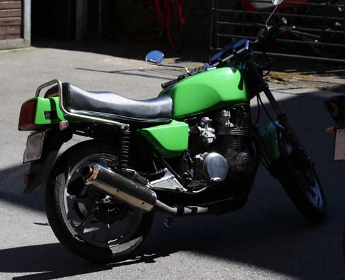 Kawasaki Z750, -81