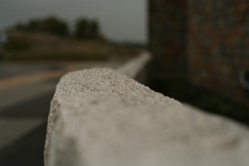 Granitmuren är rätt hård också